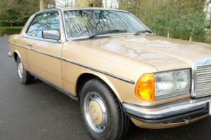 1985 (C) Mercedes-Benz CE280 Auto,Champagne Met,2 Owners,83000 Miles