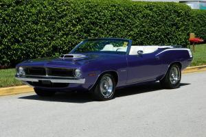 Plymouth : Barracuda Convertible
