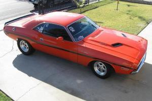 Dodge : Challenger Black stripes