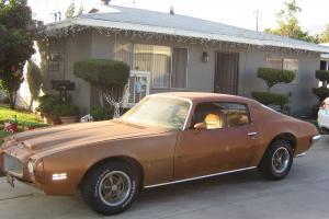 Pontiac : Firebird Formula