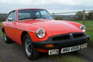 1980 MGB GT Genuine 42000 miles,Absolutely exceptional original car