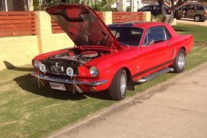 Ford Mustang 1965 2D Hardtop 3 SP Automatic 4 7L Carb Seats