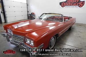 Cadillac : Eldorado Runs Drive Very Good Body Interior 500V8
