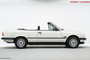 BMW E30 320i Convertible // Alpine White // 1990
