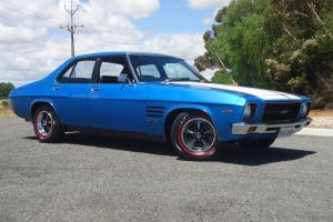 HQ GTS Holden Monaro Genuine 308 4 Speed Cyan Blue in Evanston Park, SA