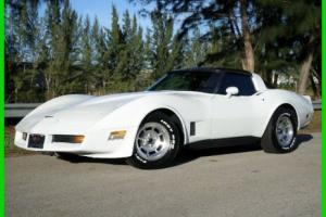 Chevrolet : Corvette VETTE STINGRAY T-TOPS AUTOMATIC