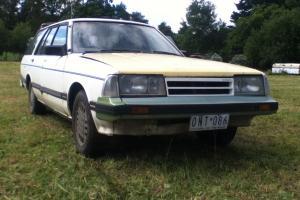 1986 Nissan Datsun Bluebird GXE Ultra Wagon