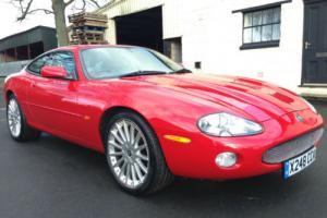 "00 X Jaguar XK8 4.0 Auto Coupe Phoenix Red Oatmeal Leather *SAT NAV, 20"" Alloys*"