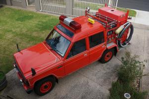 1988 Nissan Fire Truck Near NEW Condition 100 Original in Burwood, VIC Photo