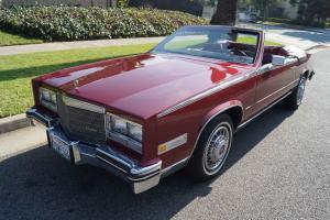 Cadillac : Eldorado BIARRITZ CONVERTIBLE WITH 38K MILES!