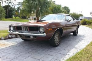Plymouth : Barracuda vinyl roof