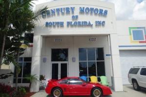 Pontiac : Fiero GT COUPE  NON SMOKER 35,897 MILES