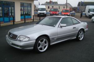 Mercedes-Benz SL 280 amg convertible with glass hardtop