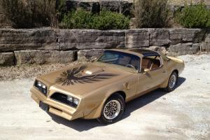 Pontiac : Trans Am 4 Speed Special Edition  Survivor  Unrestored