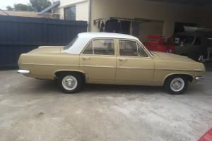 Rare Mayan Gold HR Holden Special Sedan Photo