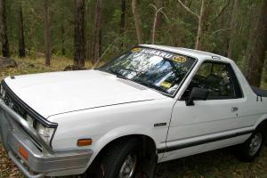 Subaru Brumby UTE 1992