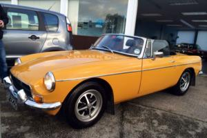 MGB GT 1.8 Roadster Convertible
