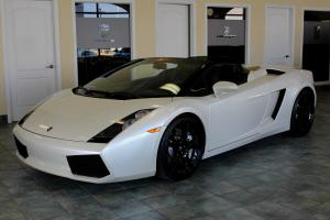 Lamborghini : Gallardo Spider
