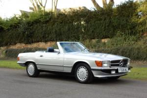 1988 F-REG Mercedes-Benz 300SL R107 Series. Convertible Soft Top. 2+2. PX Photo