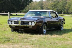 Pontiac Firebird 326 Convertible 1967 with rare Manual box. Watch our HD video.