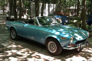 Fiat : Other Fiat spyder 124, 1971 convertible