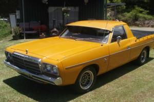 Chrysler Valiant 740kg 1977 UTE 3 SP 4L Carb in Murwillumbah, NSW