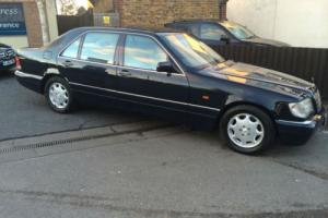 Mercedes-Benz S 500 LIMO 1 OWNER FULLY LOADED FSH INVESTMENT