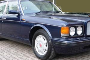 1996 N BENTLEY BROOKLANDS 6.8 AUTO 4 DOOR PEACOCK BLUE WITH CREAM LEATHER VIP