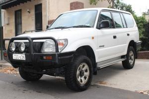 Toyota Landcruiser Prado RV6 4x4 1998 4D Wagon 4 SP Automatic 4x4 3 4L in Surry Hills, NSW