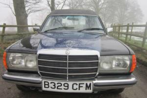 1985 MERCEDES-BENZ 200 AUTO 123 SERIES CUSTOM MADE PICKUP (black/blue)