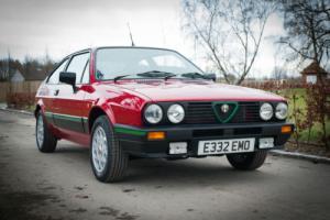 1987 Alfa Romeo Alfasud Sprint