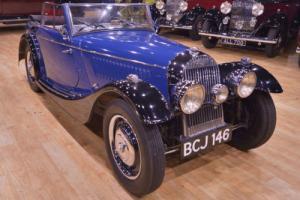 1938 4/4 Morgan Drop Head Coupe Flat Rad