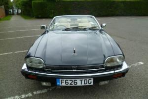 Now Sold 1989 Jaguar XJ-S 5.3 V12 Convertible