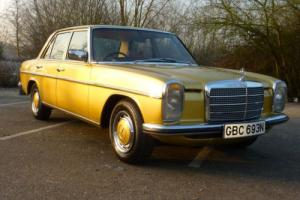 MERCEDES 250 AUTO 1974 - 1 OWNER & COVERED 37,000 MILES FROM NEW WARRANTED