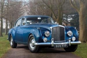 1957 Bentley SI Continental Saloon by HJ Mulliner