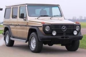 1988 Mercedes-Benz G-Wagon 280GE LWB