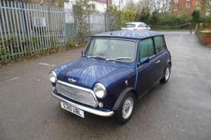 1998 Classic Rover Mini Balmoral in Blue