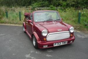 1996 Classic Mini Cabriolet in Nightfire Red only 17,000 miles Photo