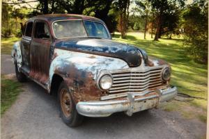 1942 Dodge Custom D22C Sedan Project