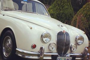 1964 Jaguar Mark 2 3 4LITER 3 Speed Auto OLD English White MK 2 MK II TWO