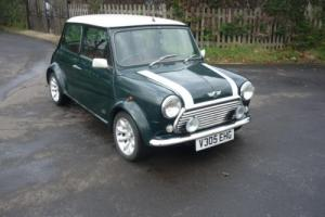2000 Classic Rover Mini Cooper 40 Limited Edition in Brookland Green