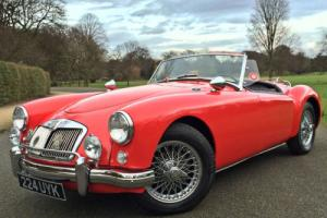 1959 MGA Roadster - LEFT HAND DRIVE - Wire Wheels