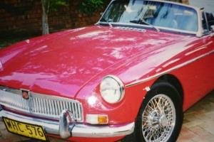 M G MGB 1969 2D Convertable 4 SP Manual 1 8L Carb in Mona Vale, NSW