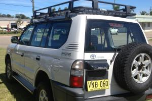 Toyota Landcruiser Prado Getaway 4x4 1998 4D Wagon 4 SP Automatic 4x4