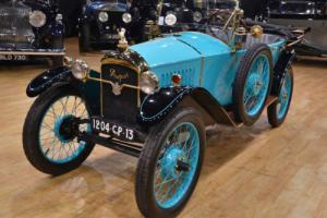 1924 Peugeot Quadrilette Torpedo.