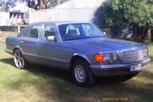 Mercedes Benz 380 SE 1985 4D Sedan 4 SP Automatic