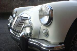 1957 MGA 1500 ROADSTER in OLD ENGLISH WHITE
