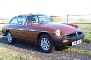 Beautiful low mileage MGB GT,lots of history,lovely condition