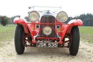 1933 LAGONDA M45 TOURER RED, FRESH PAINTWORK