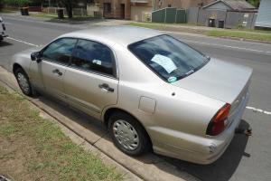 Mitsubishi Magna Advance 1997 4D Sedan 5 SP Manual 3L Multi Point F INJ in Toongabbie, NSW